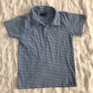 Oscar De La Renta Striped Polo